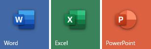 Office 365 の新しいアイコン